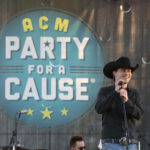 LAS VEGAS, NV - APRIL 01:  Musician William Michael Morgan performs onstage at the ACM Party For A Cause: Tailgate Party on April 1, 2017 in Las Vegas, Nevada.  (Photo by Gabe Ginsberg/Getty Images for ACM)