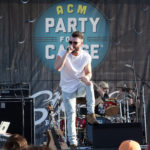 LAS VEGAS, NV - APRIL 01:  Singer Dylan Scott performs onstage at the ACM Party For A Cause: Tailgate Party on April 1, 2017 in Las Vegas, Nevada.  (Photo by Gabe Ginsberg/Getty Images for ACM)